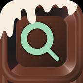 チョコレート検索-キュートなデザインでかんたん検索-無料 icon