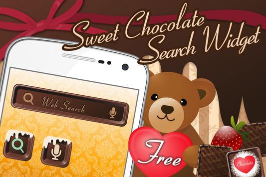 チョコレート検索-キュートなデザインでかんたん検索-無料 poster