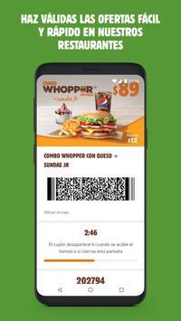 Burger King® Mexico screenshot 3