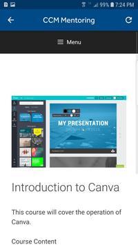 CCM Mentoring screenshot 3