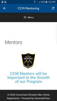 CCM Mentoring screenshot 7