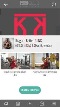 FitClub Finland capture d'écran 1