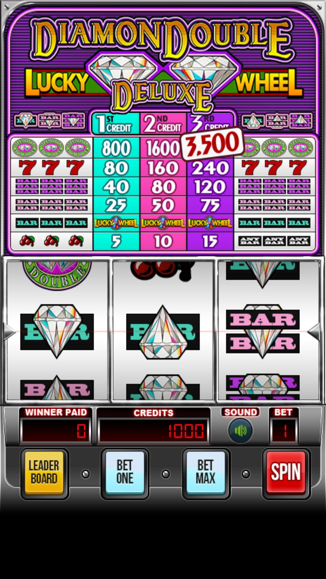Diamond Deluxe Slots