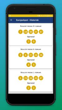 Lotteri Resultater - Norsk screenshot 4