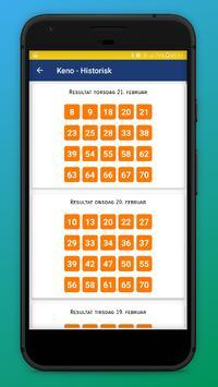 Lotteri Resultater - Norsk screenshot 5
