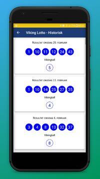 Lotteri Resultater - Norsk screenshot 6
