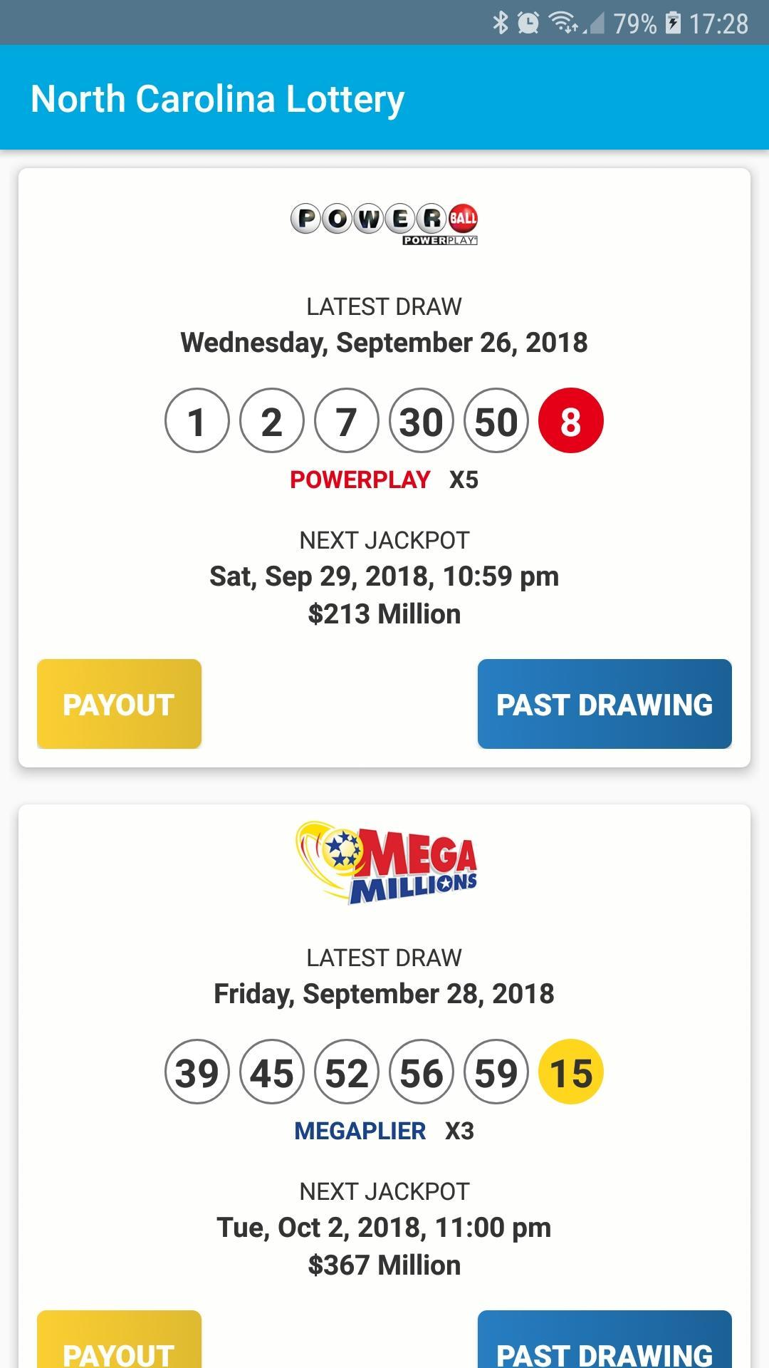 Nc lottery results pick 3