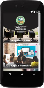 North American Wholesale Electronics poster