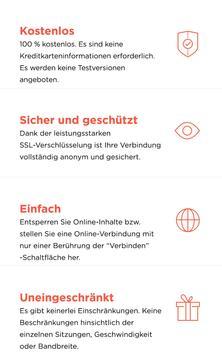 Kostenloser VPN Proxy - VPN Sicherheit Unlimited Plakat