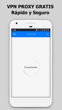 Touch VPN Proxy Gratuito Ilimitado | WiFi Seguro Poster