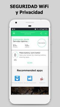Touch VPN Proxy Gratuito Ilimitado | WiFi Seguro captura de pantalla 1