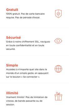 Proxy VPN illimité gratuit Affiche