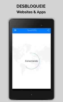 Touch VPN Proxy Gratuita Ilimitada |Segurança WiFi imagem de tela 5