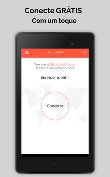 Touch VPN Proxy Gratuita Ilimitada |Segurança WiFi imagem de tela 6
