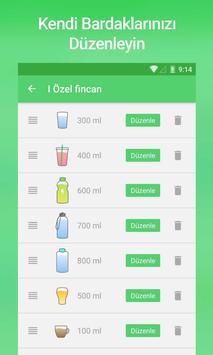 Su içme Hatırlatıcısı Ekran Görüntüsü 3