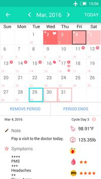 Period Tracker screenshot 1