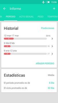 Registro del periodo ovulación captura de pantalla 7