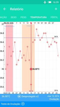 Calendário período da ovulação imagem de tela 4