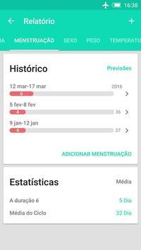 Calendário período da ovulação imagem de tela 7