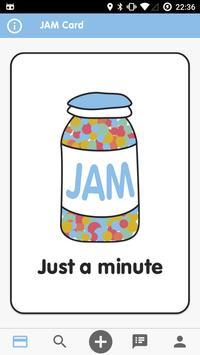 JAM Card poster