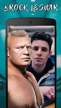 Selfie with Brock Lesnar: WWE & UFC Wallpapers poster