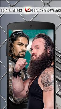 Roman Reigns VS Braun Strowman: WWE Wallpapers poster