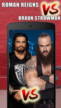 Roman Reigns VS Braun Strowman: WWE Wallpapers screenshot 1
