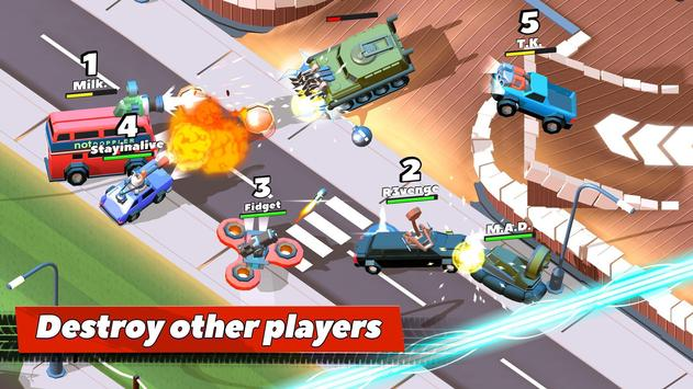 Crash of Cars Cartaz