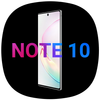 Cool Note10 Launcher أيقونة