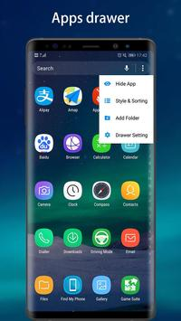 Cool Note9 Launcher for Galaxy Note9 screenshot 3