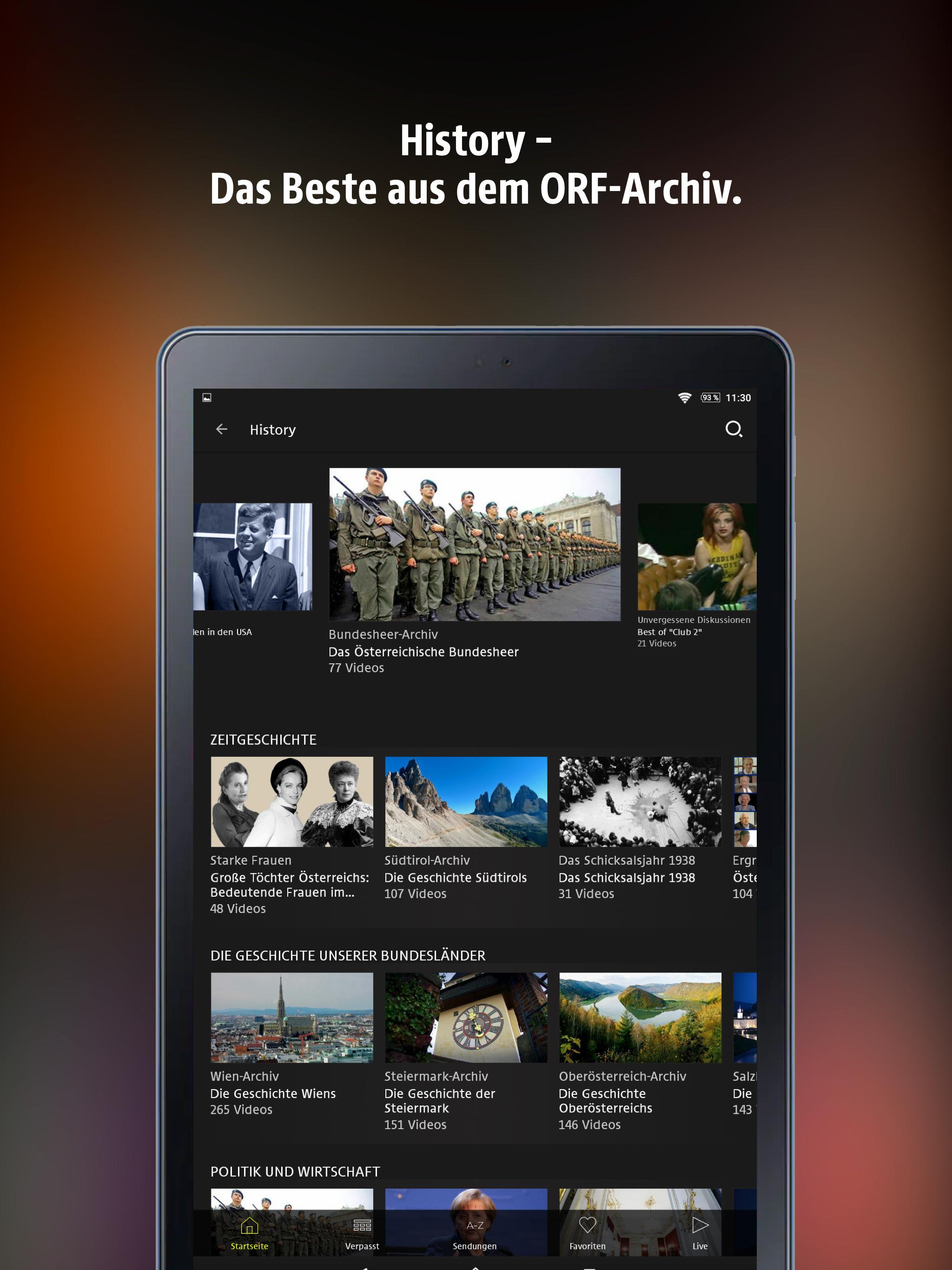 ORF TVthek for Android - APK Download