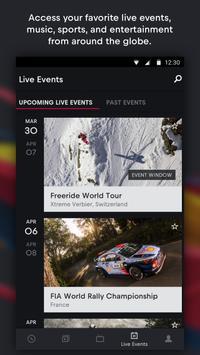 Red Bull TV imagem de tela 1