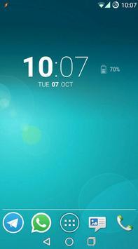 Smerald Green CM Theme screenshot 1