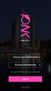 Pink kode poster