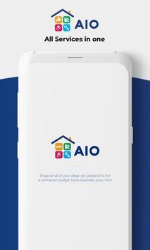 AIO Services : Contractor poster