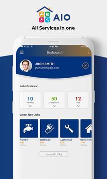 AIO Services : Contractor screenshot 3