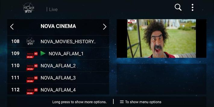 NOVA IPTV screenshot 2