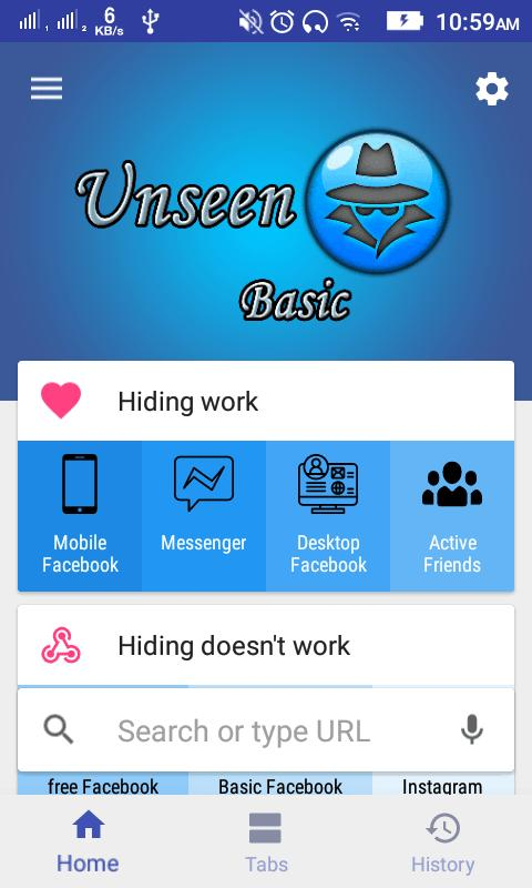 Unseen for Facebook Basic for Android - APK Download
