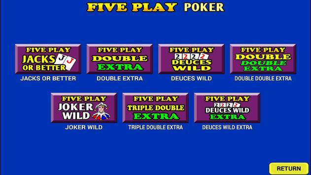 Five Play Poker screenshot 4