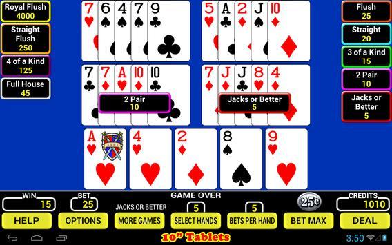 Five Play Poker screenshot 5