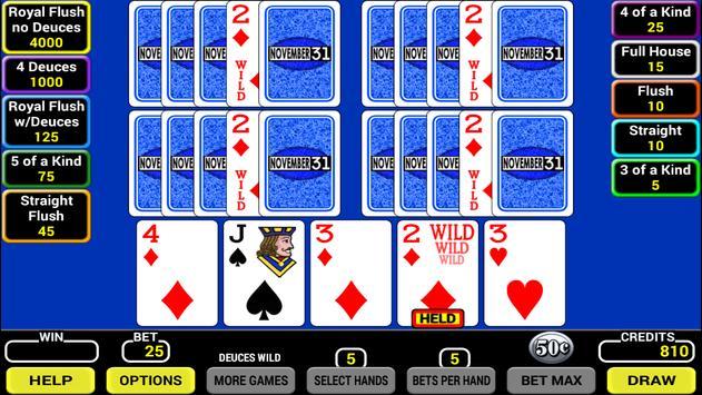 Five Play Poker screenshot 1