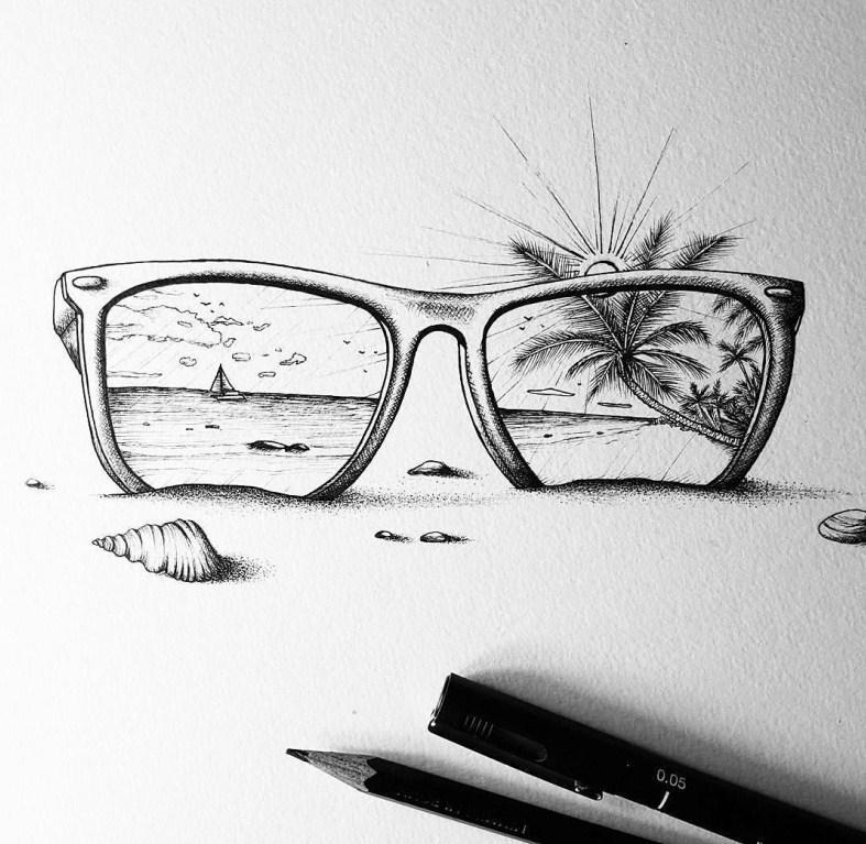 Необычные рисунки для срисовки карандашом
