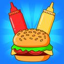 APK Merge Burger: Food Evolution Cooking Merger