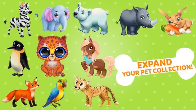 1 Schermata Merge Animals Zoo: Carino Animale Safari Parco