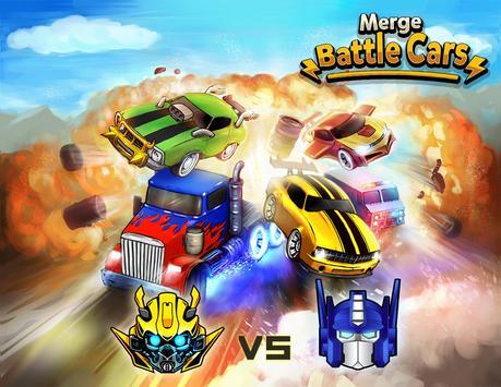 Merge Battle Car Plakat