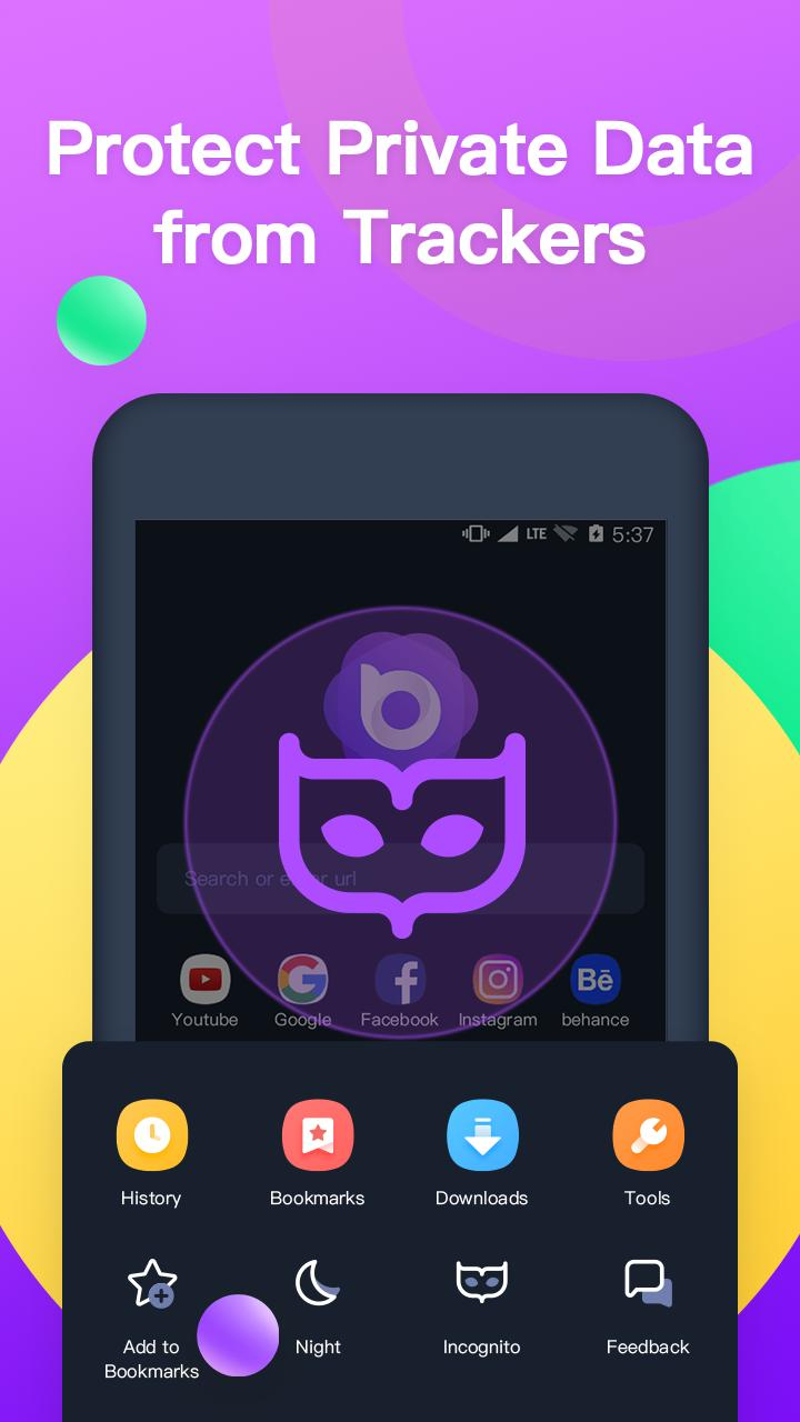 Nox Browser - Fast & Safe Web Browser, Privacy for Android