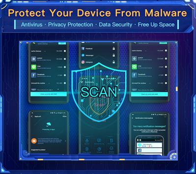 Nox Security - Antivirus Master, Clean Virus, Free poster