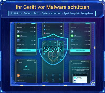 NoxSecurity - Antivirus Master, Virus reinigen Plakat