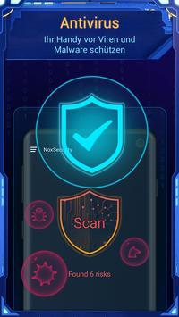 NoxSecurity - Antivirus Master, Virus reinigen Screenshot 1