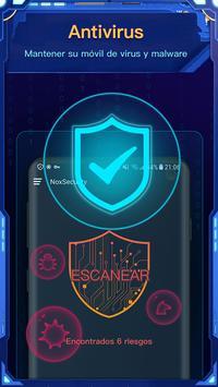 Nox Security - Antivirus Master, Clean Virus captura de pantalla 1
